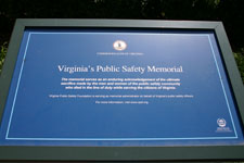Virginia's Public Safety Memorial